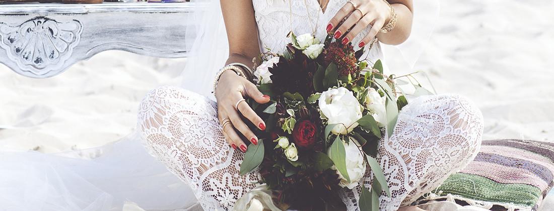 Дизайн свадебного букета. Art-wedding Hippy