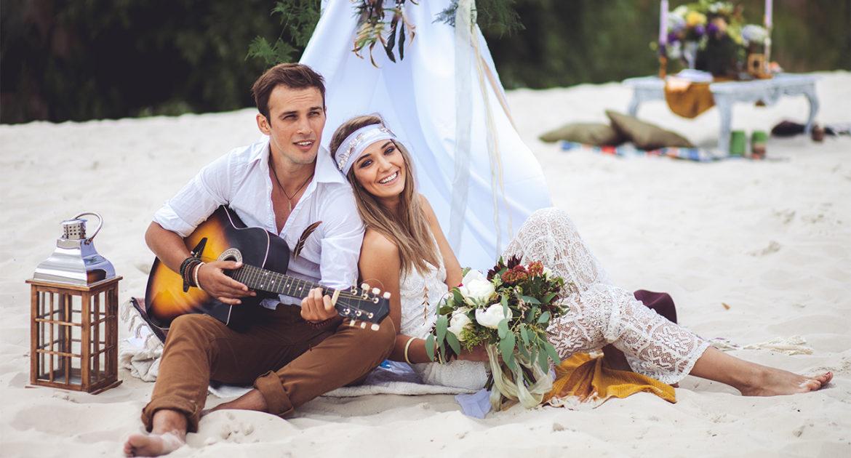 Art-wedding Hippy